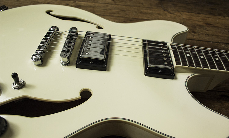 Ibanez AS73 IV ivory - Body