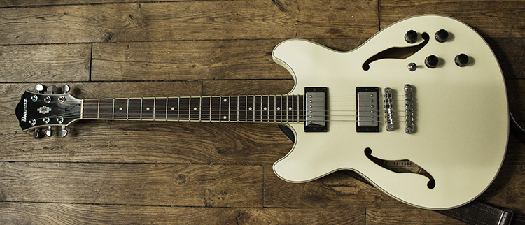 Ibanez AS73 IV ivory - Full