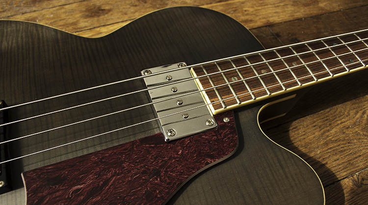 Peerless Smoked Bass Pickguard