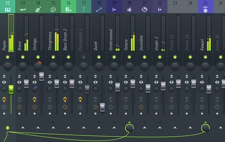 Fl Studio 12 - Routing
